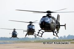 EC135 und BO105 im Anflug-240